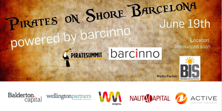 Pirates on Shore Barcelona powered by Barcinno